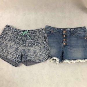 Cat & Jack Shorts (2pr) Sz XL (14/16)